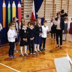 Występ uczniów klasy 1c.