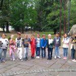 Klasa 2d w Parku Miejskim.