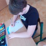 """3a- Uczeń realizuje kartę pracy """"Wirusoochrona""""."""