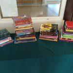 książki przyniesione przez uczniów