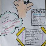 Notatka wizualna ucznia klasy 4